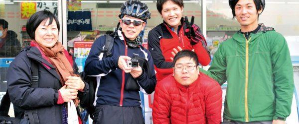 琵琶湖をピスト自転車で一周していたときに出会った、素敵な人々。