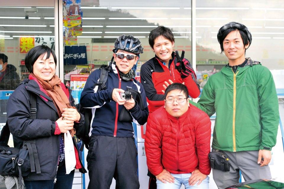 琵琶湖をピスト自転車で一周していたときに出会った、素敵な人々