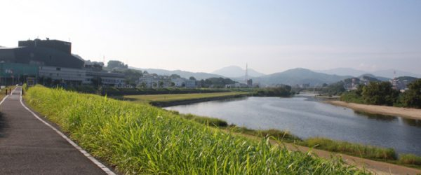 大阪から奈良方面へ向かう国道25線はずれの小道