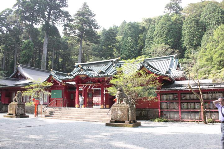 箱根(九頭龍)神社の入り口