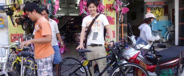 ベトナムで初めて買ったロードバイク