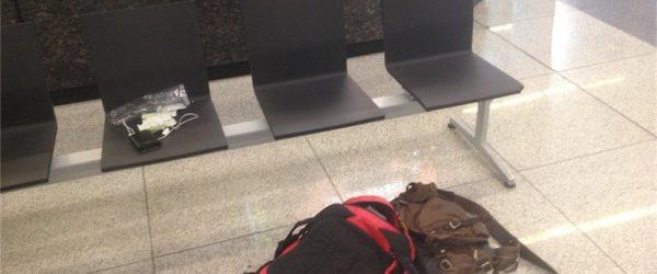 インディラ・ガンディー国際空港で寝る