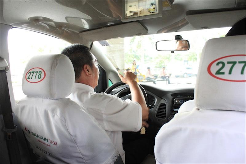 ベトナムのタクシーVinasun