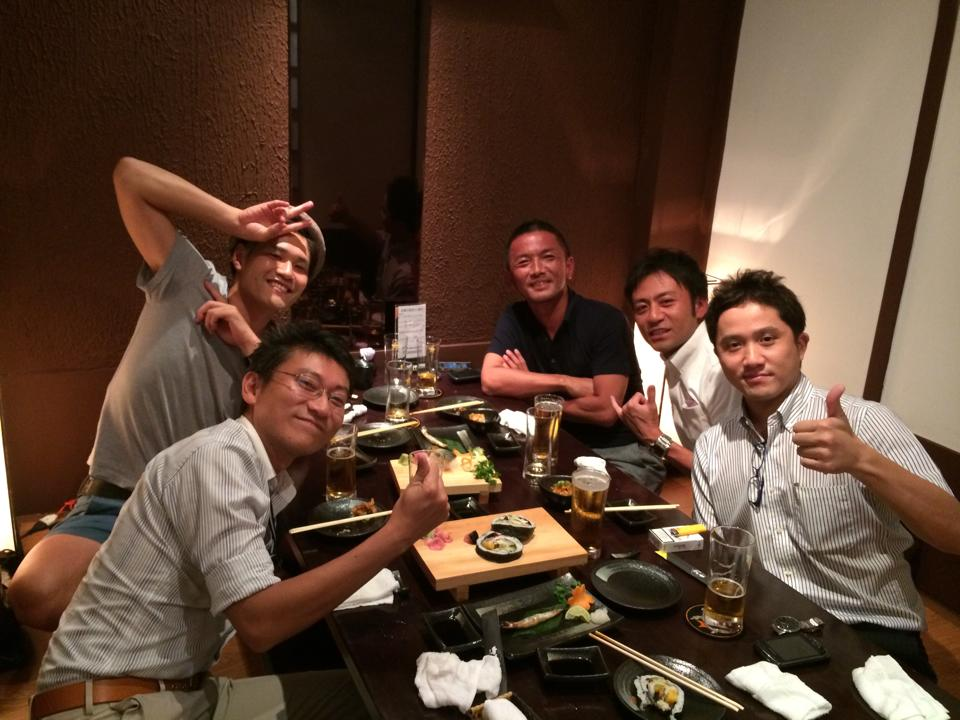VCA飲み会 2014/5/27